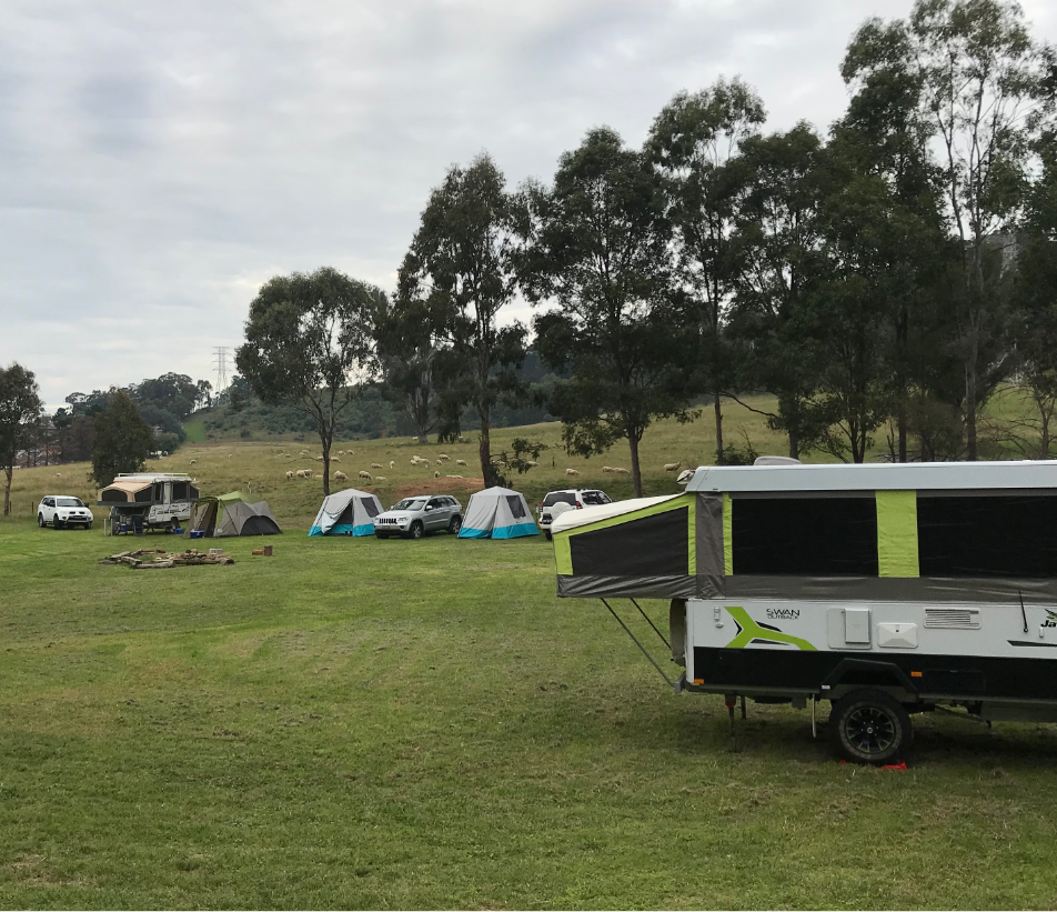 CAMPING PACKAGE INCLUDES